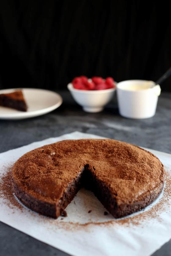 Flourless Chocolate Hazelnut Cake | erin made this